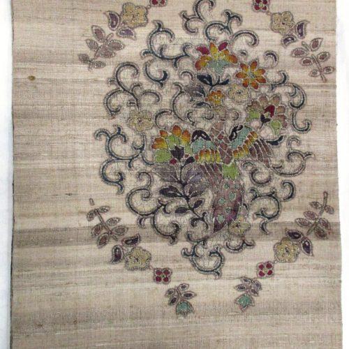 野蚕糸袋帯