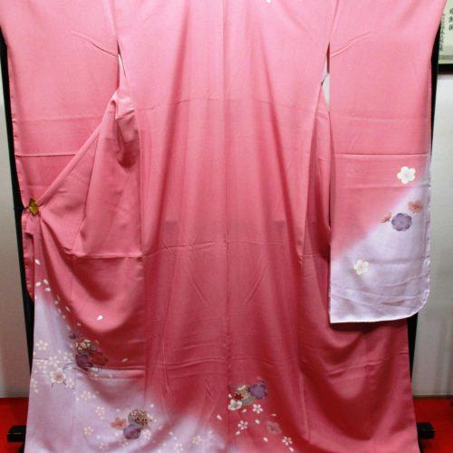 振袖桜と毬