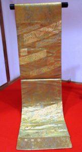 青銅箔袋帯