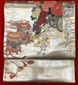 橋本清織物帯